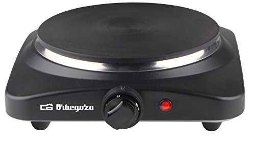 Orbegozo PE 2810 - Placa eléctrica de cocina portatil, un quemador (18,5...