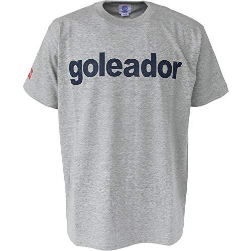 goleador(ゴレアドール) ロゴT シャツ G-2394 Mサイズ アッシュグレー