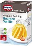 Dr. Oetker Professional Premium Pudding Bourbon-Vanille, Puddingpulver in 1 kg Packung