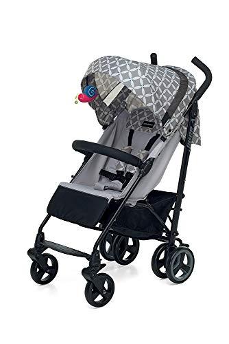 Foppapedretti Hurrà Cochecito compacto para niños de 0 a 3 años, Oval Grey