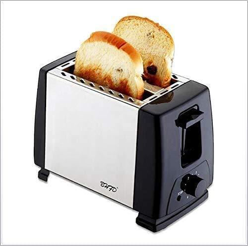 Máquinas de Pan, Utensilios de Cocina, Tostadora casera de la Cocina Mini portátil sandwichera multifunción de Acero Inoxidable máquina de Pan Desayuno ZHW345