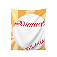 棒球 おしゃれ 大判 壁掛け モダンなアート 布ポスター 多機能 耐久性 インテリア 寝室 カーテン 部屋 タペストリーオールシーズン