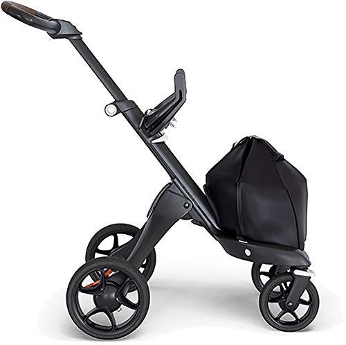 Stokke® Châssis Xplory V6 accessoires pour poussette, noir/marron