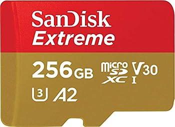 SanDisk 256GB Extreme for Mobile Gaming microSD UHS-I Card - C10 U3 V30 4K A2 Micro SD - SDSQXA1-256G-GN6GN