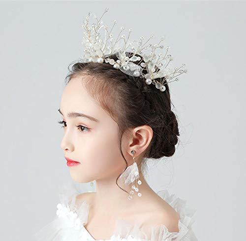 Headdress Kroon Haarband Children's Haarband Haaraccessoires Hoofd Bloem Baby Garland Sieraden Meisje Prinses Kroon