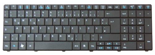 Tastatur Packard Bell EasyNote TE11HC Serie DE NEU Schwarz