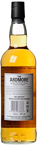 The Ardmore Legacy Highland Single Malt Scotch Whisky, mit Geschenkverpackung, 40% Vol, 1 x 0,7l - 7