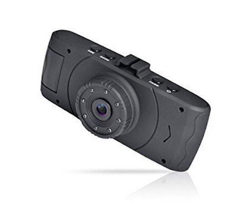 Coby DCHD-120 Dual Camera Dash Cam Front & Inside 1080P GPS Logger & DVR