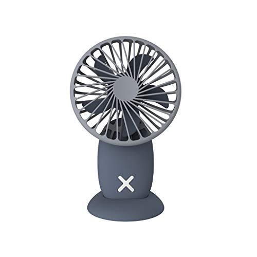 Gib nooit op USB creatieve nieuwe Macarons hangende hals kleine ventilator magnetische voet kantoor desktop mini-fan