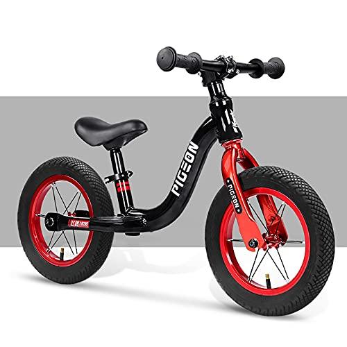 Laufrad Laufrad für 2-6 Jahre Alte Kleinkindkinder, Leichtes Aluminium-Leichtmetallrahmen-Laufbalance-Fahrrad,...