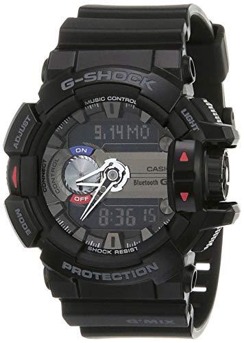 Casio G-Shock Analog-Digital Black Dial Men's Watch - GBA-400-1ADR (G556)