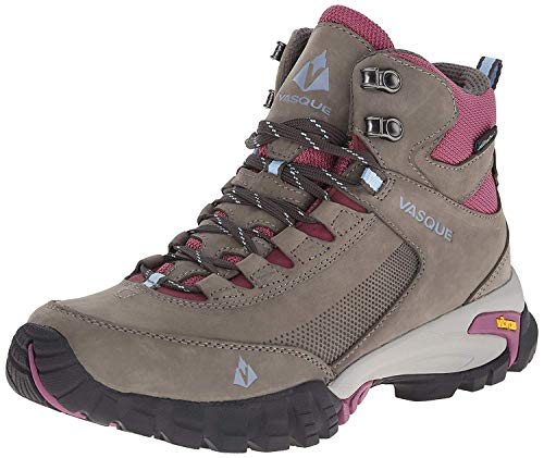 Vasque Women's Talus Trek UltraDry Hiking Boot, Gargoyle/Damson, 7.5 M US