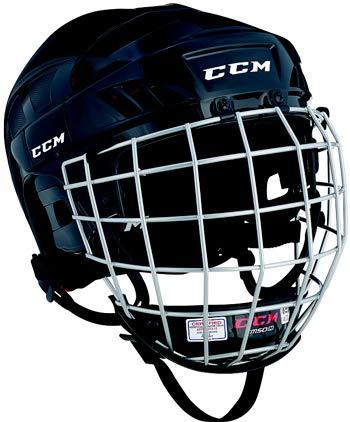 CCM Helm 50 Combo, Blau, M (54-59cm)