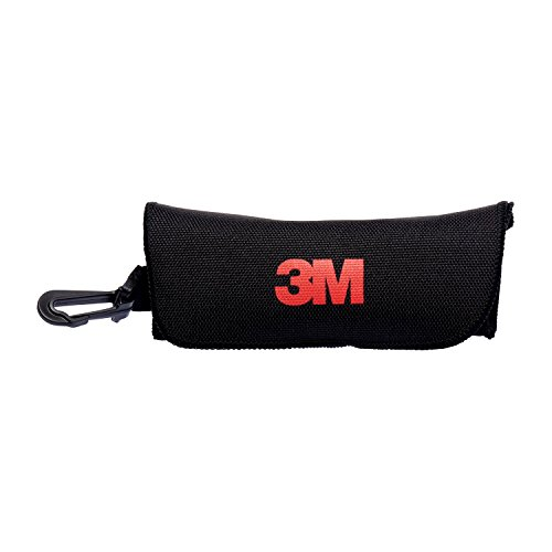 3M etui 4 middelsterke brillenkoker van kunststof met riemlus en karabijnhaak, zwart