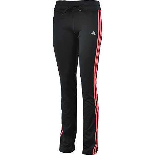 adidas Damen Hose Workout, Schwarz/Pink, XXS