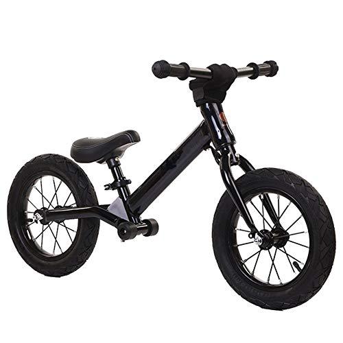 XHJZ-W Balance de la Bici por 2 3 4 5 6 Años de Edad Niño Niña, sin Pedal de Ruta Equilibrio Bicicleta de Entrenamiento de Bicicletas para niños y los niños,C