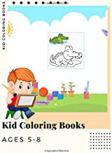 Kid Coloring Books Ages 5-8: Dinosaur , Unicorn & Animal Coloring Book Cartoon For Boys, Girls Toddlers & Teens Or Adult Best Xmas & Birthday Gifts With 250 Full Colour Pages Vol 20