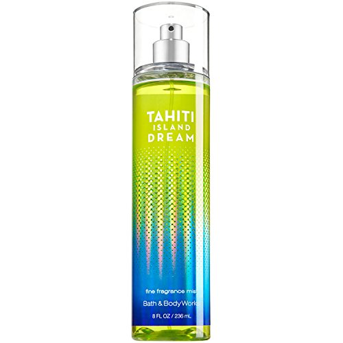 Bath and Body Works Tahiti Island Dream Fine Fragrance Mist 8 Ounce