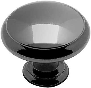 10 Pack - Cosmas 5422BN Black Nickel Cabinet Hardware Mushroom Knob - 1-3/16