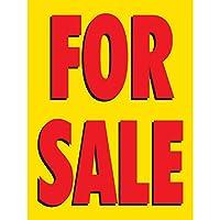 ハーフプライス バナー   販売 ビニールバナー - 屋内/屋外   ボールバンジー & ジップタイ付き   簡単吊り下げサイン - 米国製 4'x3'