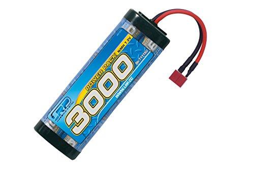 LRP Power Pack 3000 - Piezas para maquetas Radio Control (RC) (Batería, Azul, Níquel-Metal hidruro (NiMH), 3000 mAh, 7,2 V)