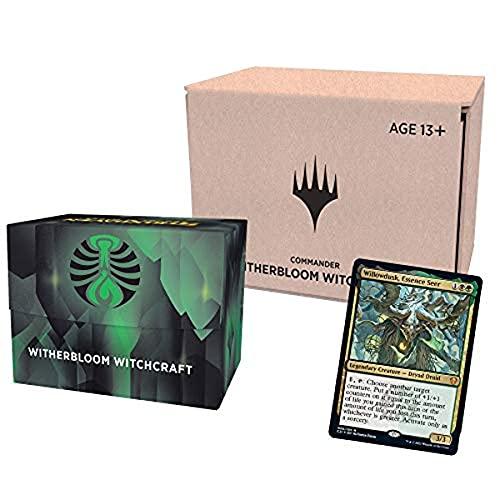 MTG Strixhaven: School of Mages - Commander DEck MP3 - Inglês (Witherbloom Witchcraft )