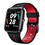 Reloj Inteligente con GPS,Smart Watch Hombre Mujer niños con Pulsómetro,Pulsera de Actividad con Impermeable 5ATM y Pronóstico del Tiempo,1.3' Pantalla Táctil Reloj Deportivo para Android iOS