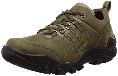 Woodland Men's OGC 3311119_Olive Green_7 Leather Clogs-7 UK (41 EU) (8 US) 3311119OLIVE
