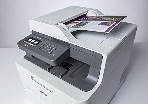 Brother DCP-L3550CDW - Impresora multifunción (Wifi, USB 2.0, 512 MB, 800 MHz, 18 ppm, 400 W) Blanco