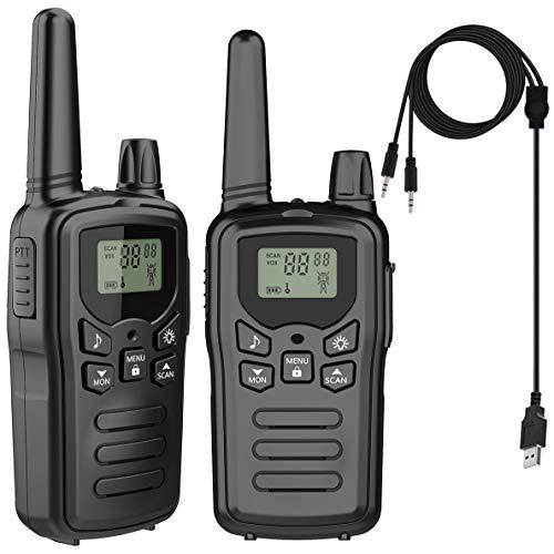 トランシーバー 無線機 免許不要 特定小電力 超長距離タイプ 携帯型?簡単操作 T518 災害・地震 緊急対応 2台セット