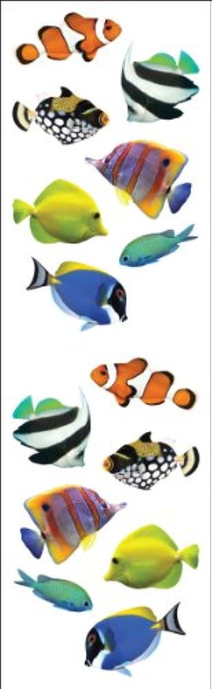 Mrs Grossman Stickers-Tropical Fish
