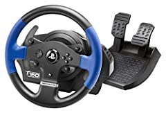 "Official Racing Simulator for PS4 and PS3 (also compatible with PC); 1080 degree force feedback racing wheel; Built-in PS4/PS3 sliding switch; Realistic 11""/28 cm wheel; Large pedal set included PlayStation4-certified embedded software and PS4/PS3 sl..."