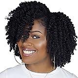 Pelucas mullidas afro rizado negro peluca completa con hebilla ajustable fácil de usar malla extensión del pelo clip libre