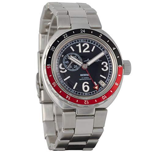 Vostok Amphibian Neptune Reloj de pulsera automático ruso #960762