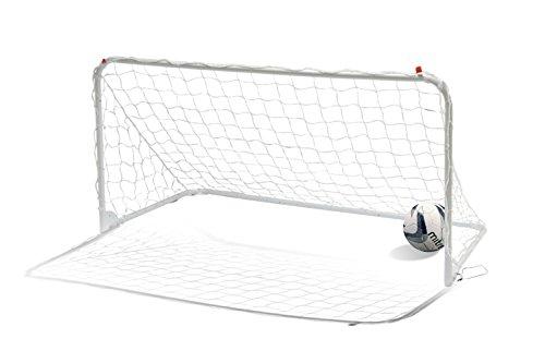 Mitre Łatwa do złożenia 6 x 3 bramka do piłki nożnej, biała, 6 x 3