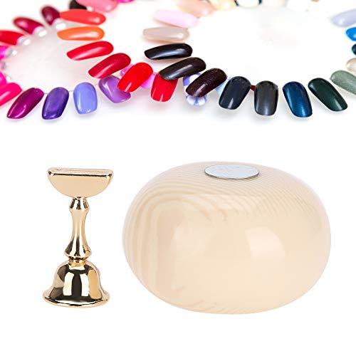 Nail Tips Holder, Acrylic Nail Display Stand, Practice Stand Base Nail Art Display Manucure Tool Nail Tip Display Rack for Fingernail DIY Nail Art(1)