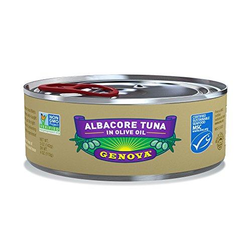 Genova Albacore Tuna in Olive Oil, 5 Ounce (Pack of 12)