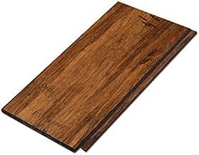 Cali Bamboo - Solid Click Bamboo Flooring, Medium Antique Java Brown, Aged - Sample Size 8