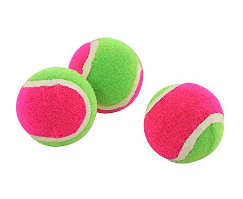 Klettbälle-Satz, 3 Stück - Ersatzbälle Klett Ball Sport Zubehör Klettspiele Spiele Kinder Strandspiele Strandset Wurfspiele