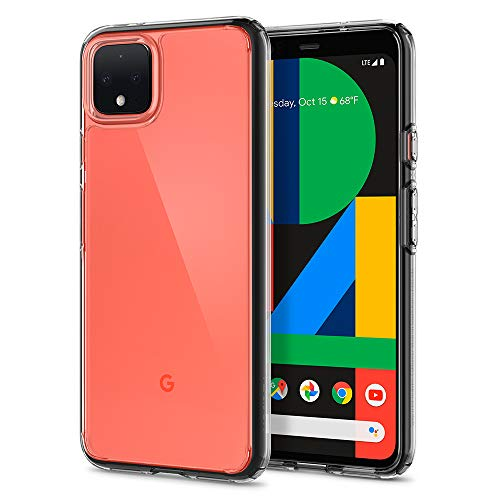 Spigen Ultra Hybrid Kompatibel mit Google Pixel 4 XL Hülle, Einteilige Transparent Durchsichtige PC Rückschale Handyhülle Hülle Crystal Clear F25CS27549