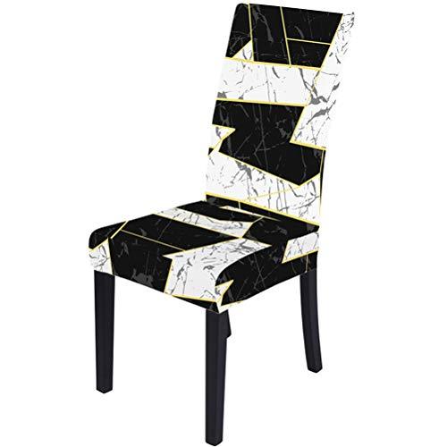 Stuhlhussen für Esszimmerstühle, Stretch Dining Chair Covers High Back Chair Schutzhülle Schonbezug, abnehmbarer waschbarer Stuhl Schonbezug Stoff Stuhlschutz für Hotelparty Hochzeit Esszimmer
