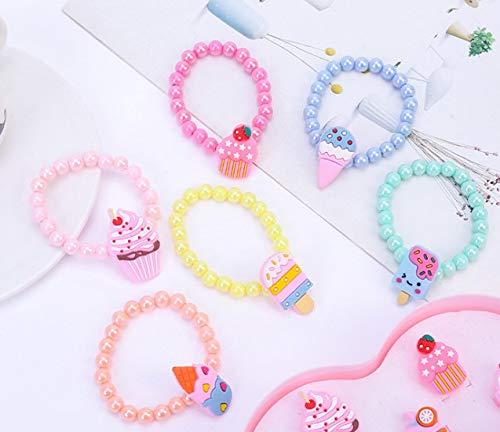 witgift 6 pulseras de la amistad con animales coloridos para niños, pulseras de la amistad, joyas para niños, cumpleaños, fiestas de cumpleaños