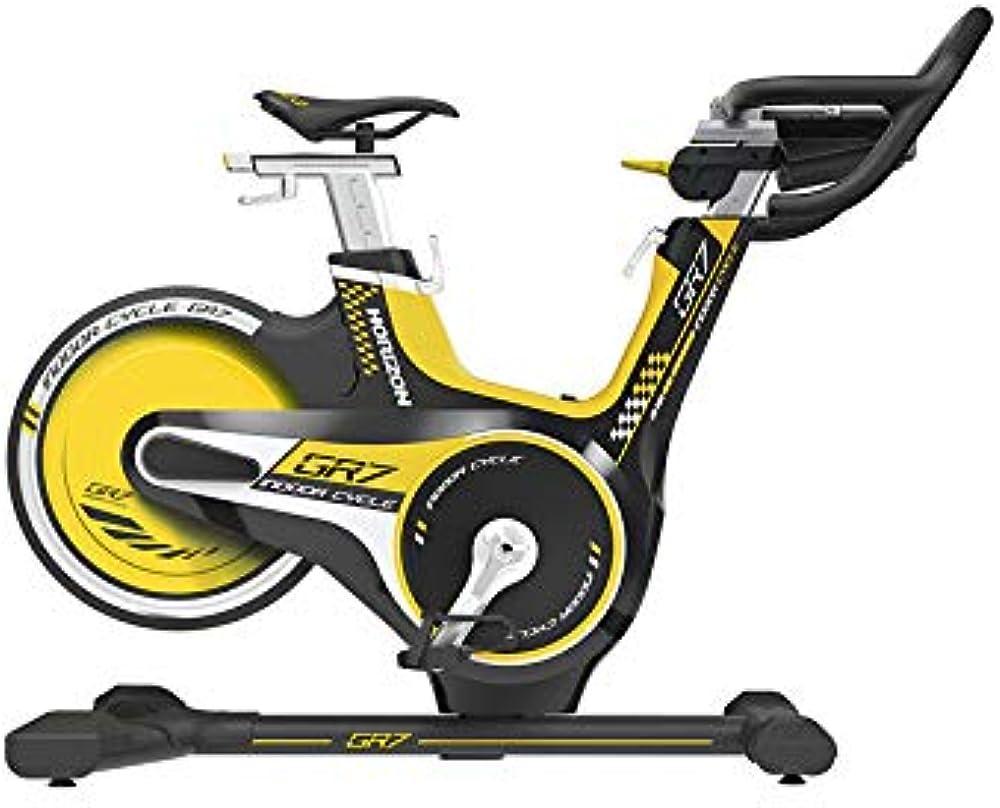 Horizon gr7 indoor bike cyclette con console e bluetooth app fitdisplay