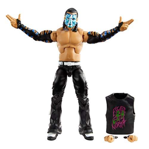 WWE Élite Figura Jeff Hardy, muñeco articulado de juguete con accesorios (Mattel GVB55)