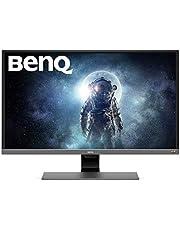 "BenQ EW3270U - Monitor para entretenimiento de vídeo de 32"" 4K UHD (3840x2160, 4ms, 60Hz, 2x HDMI, VA, 95% DCI-P3, FreeSync, Modo HDR, Brillo Inteligente Plus, DP, USB-C, altavoces, Eye-care) - Gris"