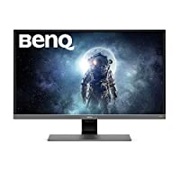 "BenQ EW3270U - Monitor para entretenimiento de vídeo de 32"" 4K UHD (3840x2160, 4ms, 60Hz, 2x HDMI, VA, 95% DCI-P3, FreeSync, Modo HDR, Brillo Inteligente Plus, DP, USB-C, altavoces, Eye-care) - Gris"