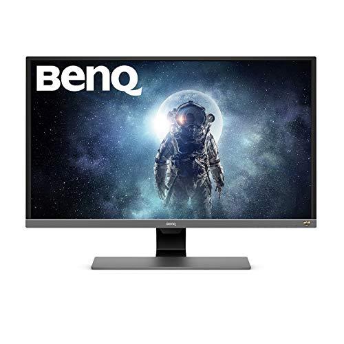 BenQ EW3270U 80,01 cm (31,5 Zoll) Monitor (4K UHD 3840 X 2160 Pixel, HDR10, AMD FreeSync, Brightness Intelligence Plus, USB-Typ C) grau