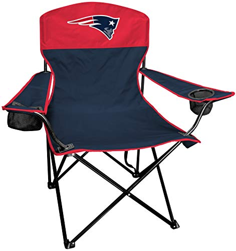 Rawlings NFL XL Lineman Tailgate and Camping Folding Chair, New England Patriots