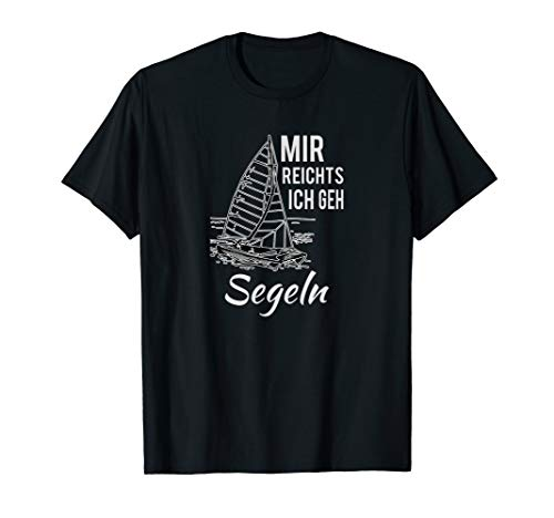 Geschenk TShirt Männer Frauen Segeln Regatta Geburtstag T-Shirt