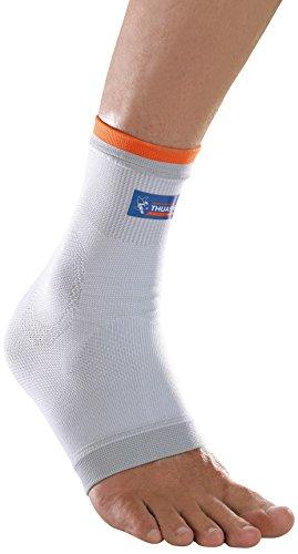 Sprunggelenkbandage von Thuasne Sport - Weiß/Orange - Größe XXL